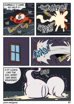 Gumball Ghost Buster – Garabatoz 8