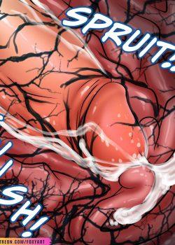 Mary venom Spider symbiosis – foxyart 30