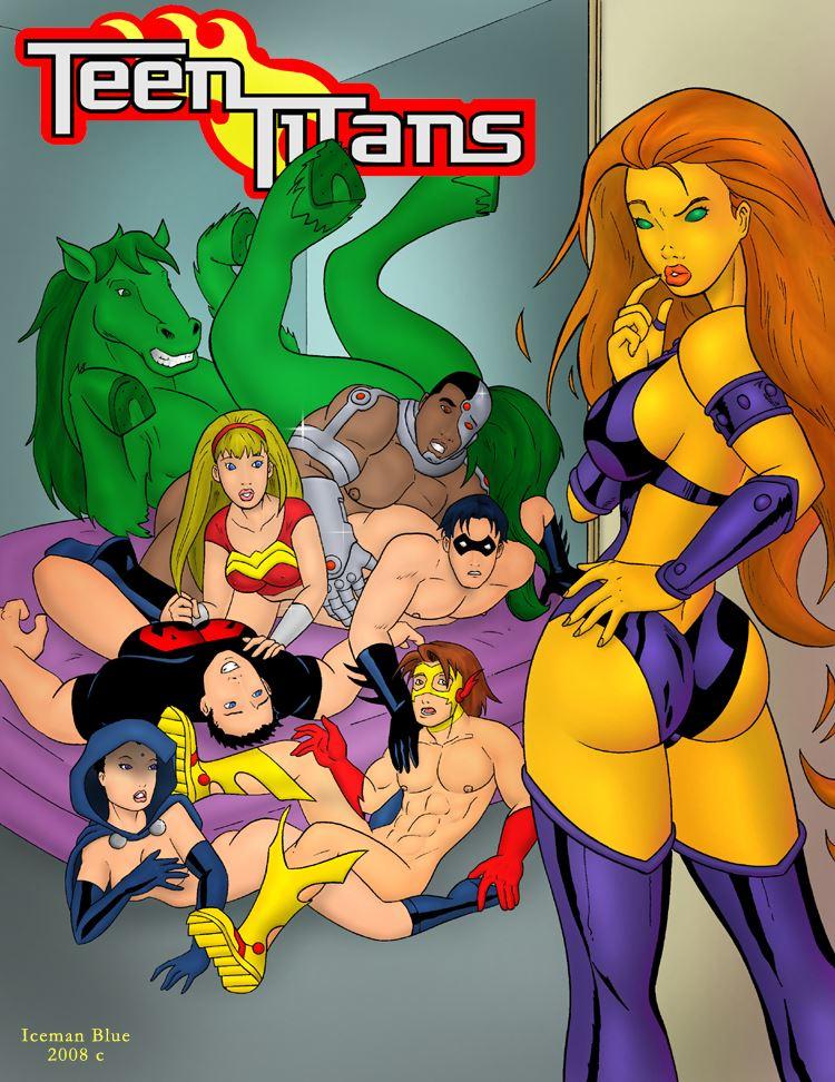Iceman Blue - Sex Education (Teen Titans) 4